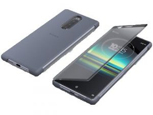 Sony Xperia 1 Style Cover Touch SCTI30 - Grå