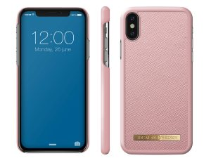 iDeal Of Sweden iPhone X/XS Saffiano Skal - Rosa