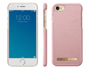 iDeal Of Sweden iPhone 8/7/6 Saffiano Skal - Pink