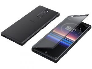 Sony Xperia 1 Style Cover Touch SCTI30 - Svart