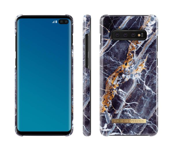 iDeal Of Sweden Samsung Galaxy S10+ (S10 Plus) - MIDNIGHT BLUE MARBLE