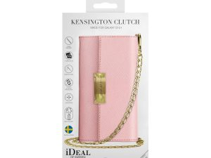 iDeal Kensington Cross Body Clutch till Galaxy S10+ - Rosa
