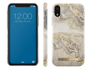 iDeal Of Sweden iPhone XR - Sparkle Greige Marble