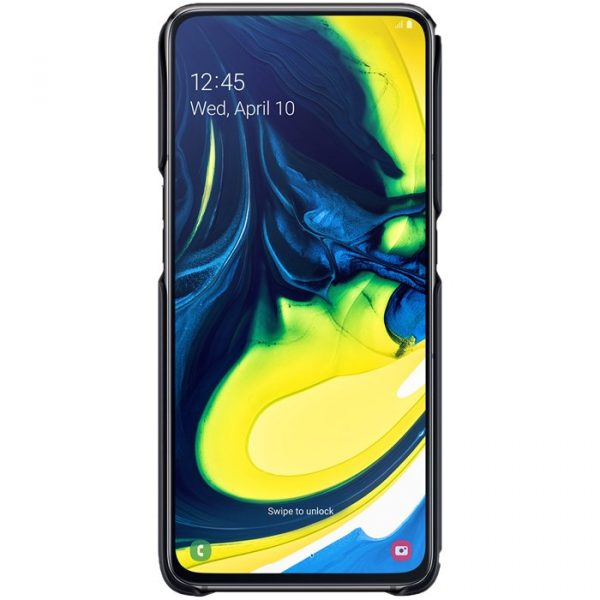 Samsung Galaxy A80 Protective Standing Cover - Svart