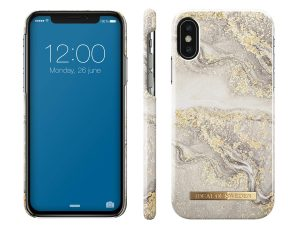 iDeal Of Sweden iPhone X / XS - Sparkle Greige Marble