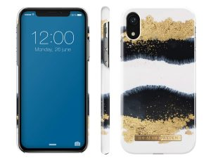 iDeal Of Sweden iPhone XR - Gleaming Licorice