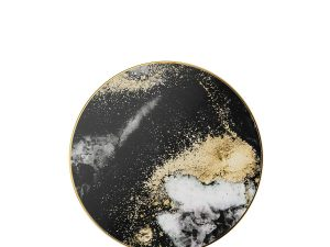 iDeal of Sweden fashion Qi laddare - Black Galaxy Marble