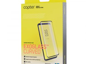 Copter Exoglass Curved Frame iPhone 11 Pro Max / XS Max - Svart