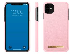 iDeal Of Sweden iPhone 11 Saffiano Skal - Rosa