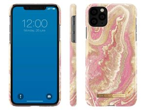 iDeal Of Sweden iPhone 11 Pro Max - Golden Blush Marble
