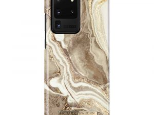 iDeal Of Sweden Samsung Galaxy S20 Ultra - Golden Sand Marble