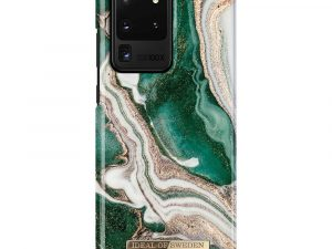 iDeal Of Sweden Samsung Galaxy S20 Ultra - Golden Jade Marble