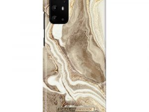 iDeal Of Sweden Samsung Galaxy S20+ (S20 Plus) - Golden Sand Marble