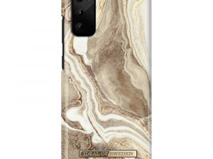 iDeal Of Sweden Samsung Galaxy S20 - Golden Sand Marble